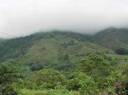 Colina cerca de Boconó