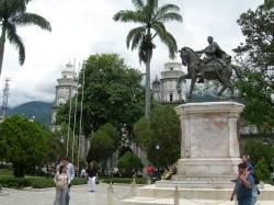 Vista de la Plaza Bolivar