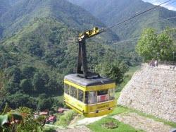 Cabina del Teleférico de Mérida