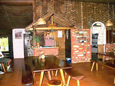 Restaurant, Campamento Parakaupa
