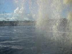 La cortina de agua