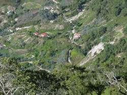 Casas en la ladera