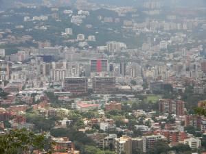 Vista de Chacao desde el Ávila