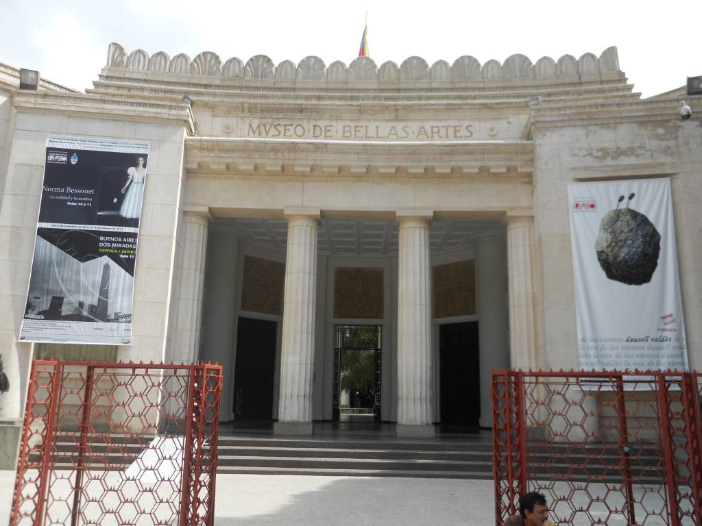 museo bellas artes venezuela: