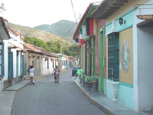 Calle Puerto Colombia (Choroní)