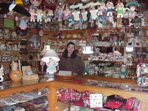 Tienda de artesanía y souvernirs