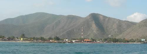 Ocumare de la Costa desde el Mar