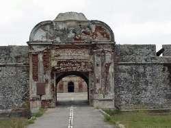 Entrada al Castillo de San Felipe