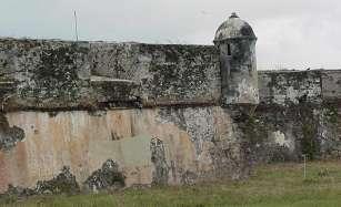 Muro del Castillo de San Felipe