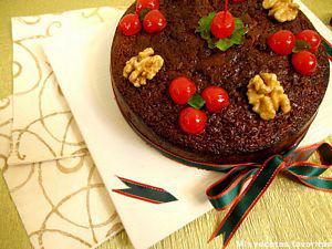 Fruit Cake Receta Alemana