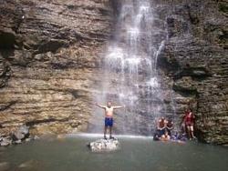 Disfrutando el agua
