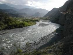 Río Chama, después de Mérida