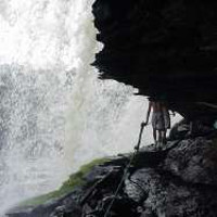 Salto el Sapo en Canaima