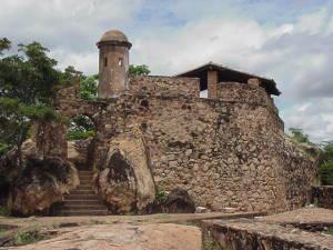 El Fortín Zamuro en Ciudad Bolívar