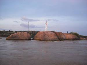 Río Orinoco en Ciudad Bolívar