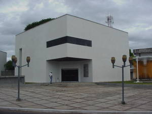Museo de Arte Moderno Jesús Soto, entrada
