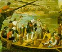 Salida de Cristóbal Colón