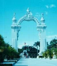 Monumento en conmemoración de la batalla de Carabobo