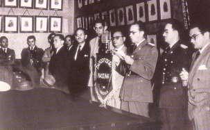 18 de Octubre: Delgado Chalbaud y miembros de la junta revolucionaria de gobienrno
