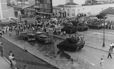 Tanques en Caracas