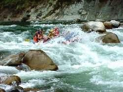 Rapido, Rafting en Barinas