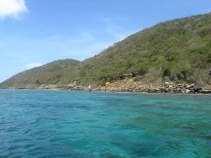 la costa de los Frailes