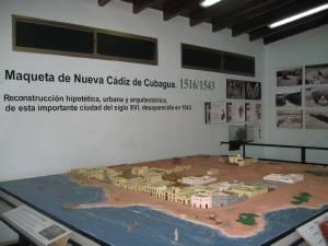 Maqueta de Cubagua