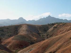 Vista tipica peninsula de macanao