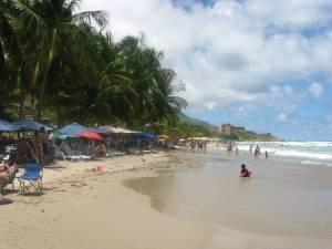 La playa Guacuco