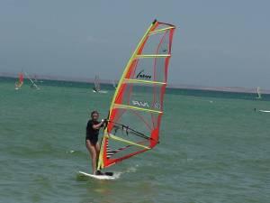 Windsurf en el Yaque