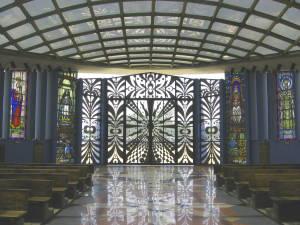 Puerta de la catedral de barquisimeto