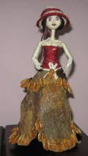 Muñeca de hojas de cocuy