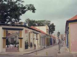 Calle Carabobo en el popular Saladillo