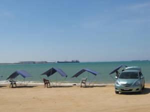 La playa de los Taques