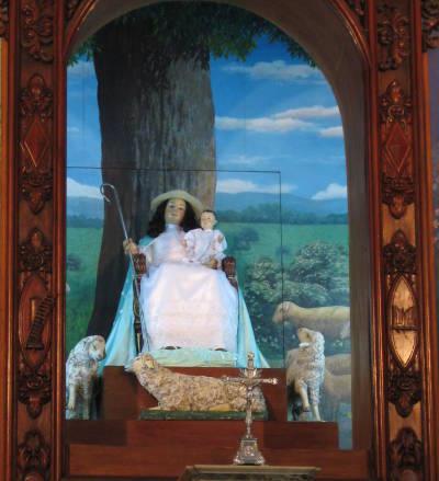 Imágen de la Divina Pastora