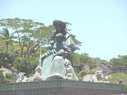 Redoma de Cabudare, imágen de la Divina Pastora