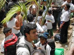 Leopoldo López, uno de los Palmeros de Chacao