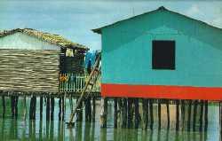 Palafito sobre el Lago de Maracaibo