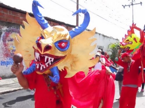 Los Diablos Danzantes De Nuestra Tierra Venezuela Tuya