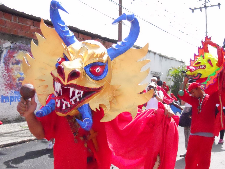 Los Diablos Danzantes de nuestra tierra - Venezuela Tuya