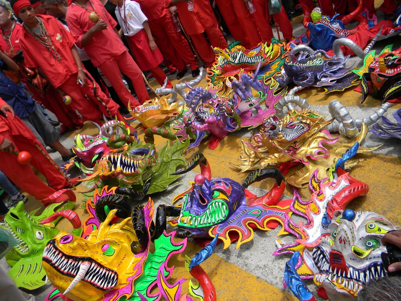 Diablos danzantes de Yare - Venezuela Tuya
